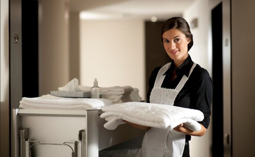 profesional room cleaning service